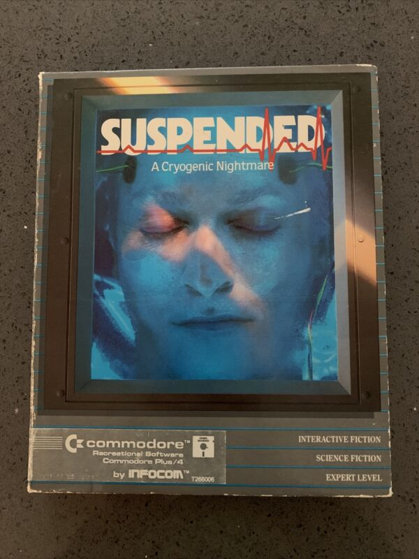 Suspended Commodore 64 Plus/4