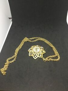 Coro Gold Plated Watch Pendant Swiss made