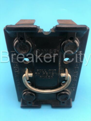 Wadsworth 60 Amp RANGE Pull Out to Renew Fuses 120/240VAC
