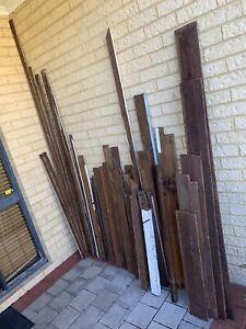 Heaps of lengths good straight Jarrah Timber $40 all
