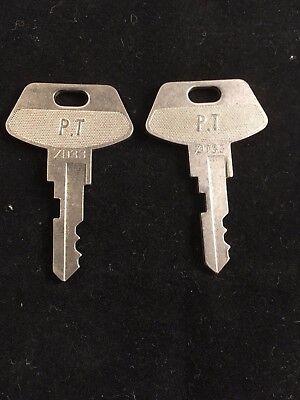 Tec Cash Register Pt Key Zd33 Set Of 2