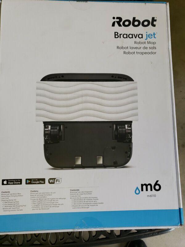 iRobot Braava Jet M6 (6110) Wi-Fi Connected Robot Mop