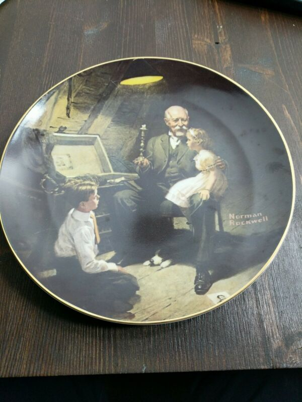 Norman Rockwell Knowles Collector Plate 5734 Z