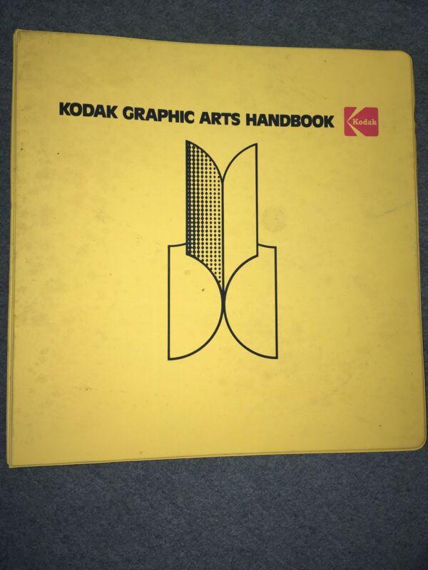 Vintage Used Eastman Kodak Graphic Arts Art Handbook Book Spiral Bound