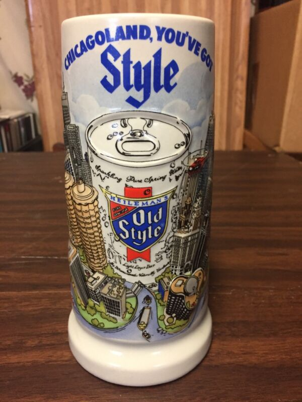 Vintage 1981 Old Style mug/stein - Chicagoland, You