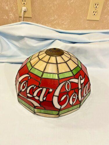 Vintage Style Tiffany Coca Cola Lamp Light Shade