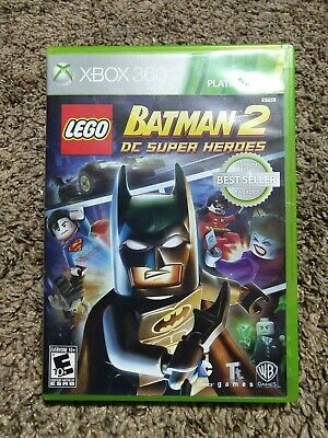 LEGO BATMAN 2 DC SUPER HEROES - XBOX 360 AUTHENTIC GAME