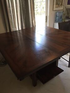 Bar height table, 6 chairs and 4 matching stools ONLY $700!!