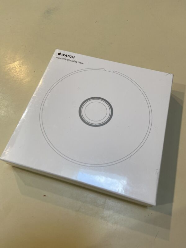 BRAND NEW! Sealed Apple Watch Magnetic Charging Dock. MLDW2AM/A
