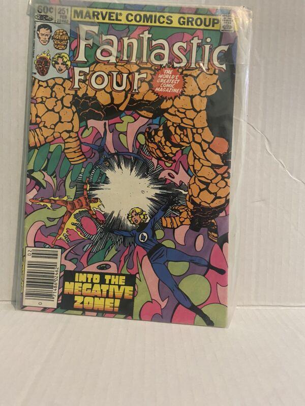 Fantastic Four  # 251 NM 9.4