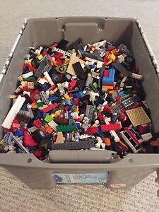 52L bin of Lego