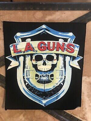 Vintage La Guns Back Patch