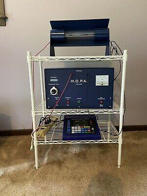 Gb 4000 20mhz Generator Mopa Plasma Tube 207 Watt Amplifier Org Accessories Rife