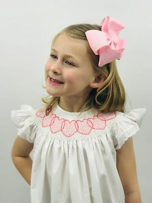 Children's Boutique Dresses (Heart Smocked bishop Dress ( Valentine's Day) NEW * boutique)