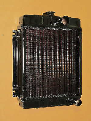 Radiator W Copper Core For Ih International 154 Cub Lo-boy 184 185