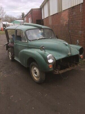 Morris minor traveller classic car spares or repair project with new wood