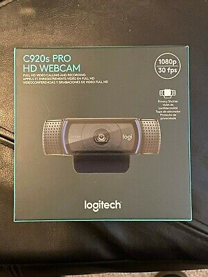 LOGITECH C920S HD PRO WEBCAM 1080P WITH PRIVACY SHUTTER BRAND NEW READY TO SHIP!