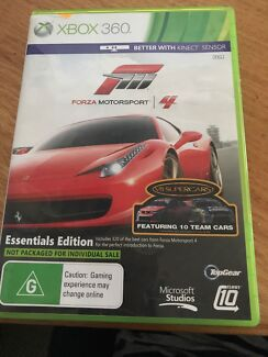 Forza Motorsport 4     Xbox 360 Ashwood Monash Area Preview
