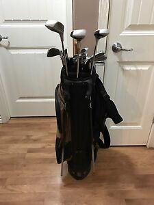 Left handed Wilson golf clubs