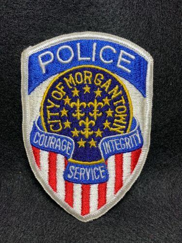 Vintage Morgantown West Virginia Police Patch