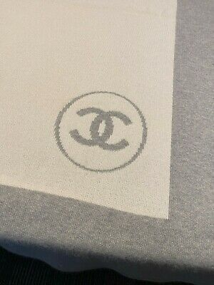 EXTREMELY RARE-CHANEL 100% CASHMERE BLANKET (VGUC)