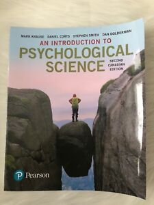 An Introduction to Psychological Science-Second Canadian Edition