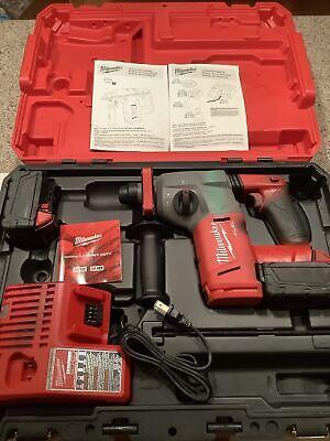 Milwaukee 2712-22 M18 Fuel 1 Sds Plus Rotary Hammer W2 5.0ah Batteriescase