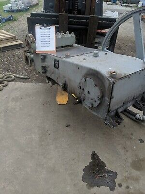 Ingersoll-rand Triplex Plunger Pump With Steel Head 2004hs3 2000 Psi Used