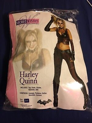Batman Arkham City Adult Harley Quinn Costume Extra Small XS](Adult Arkham City Harley Quinn Costume)