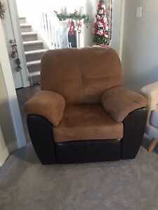 Clean and almost new recliner