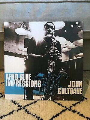 JOHN COLTRANE: AFRO BLUE IMPRESSIONS - double LP