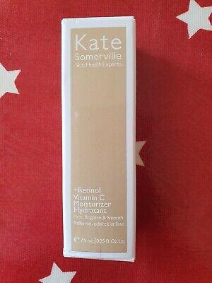 New Boxed Kate Somerville +Retinol Vitamin C Moisturiser 7.5ml