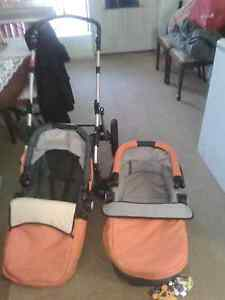 Reversible pram with toddler seat and bassinet St James Victoria Park Area Preview