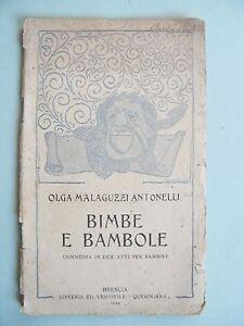 BIMBE-E-BAMBOLE-Olga-Malaguzzi-Antonelli-Commedia-in-due-atti-per-bambine-1924