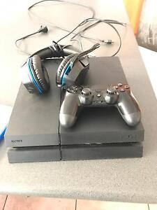 500GB PS4 including 2 games, 1 controller & afterglow LVL headset Evandale Norwood Area Preview
