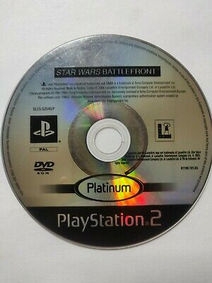 Star Wars Battlefront PlayStation 2 Ps2 Disc Only