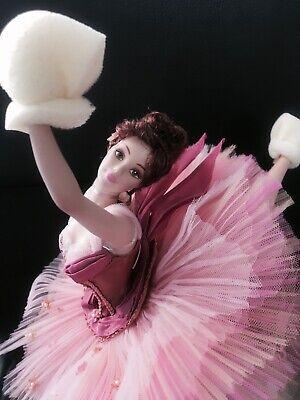 NEW Prima Ballerina Classic Grace Porcelain Edgar Degas Collection Barbie Doll  Barbie Prima Ballerina Doll