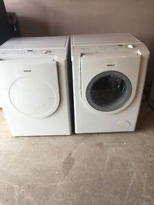 """Can deliver/27"""" Bosch nexxt washer electric dryer"""