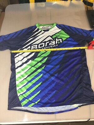Borah Teamwear Mens Freeride Cycling Jersey 4XL XXXXL (6910-145) Freeride Cycling Jersey