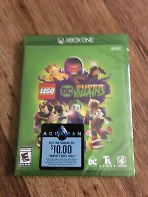 Lego DC Super Villains (Microsoft Xbox One, 2018) sealed new