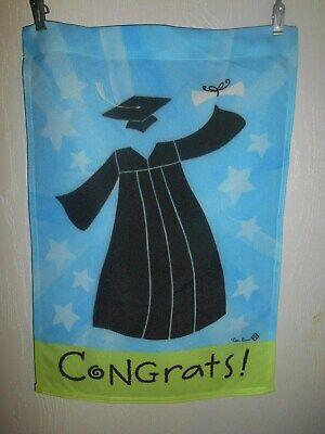 Congrats! Graduation  Garden Flag 12