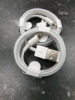 Genuine 2m Apple iPhone XS 8 7 6S 6 5S 5C Lightning USB Charger Sync Lead Cable