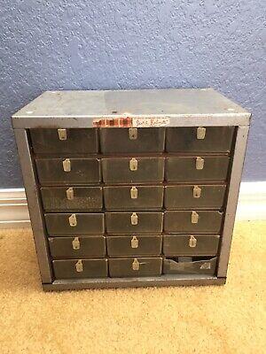 Vintage Metal Scotch Kabinettecabinet Organizer A14