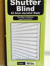 Venetian shutter blind (new) - WHITE Enfield Burwood Area Preview