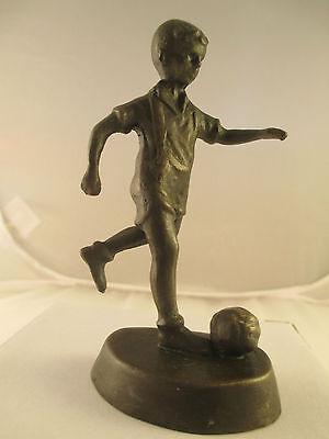 A bronze statuette