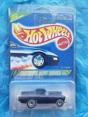 Hot Wheels 1995 Treasure Hunt '57 T-Bird TH Rare Realriders Thunderbird 4/12!!!!