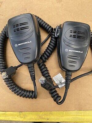 2 Motorola Aarmn4025c Cm300 Gm300 Cdm1550 Radio Palm Mic C17