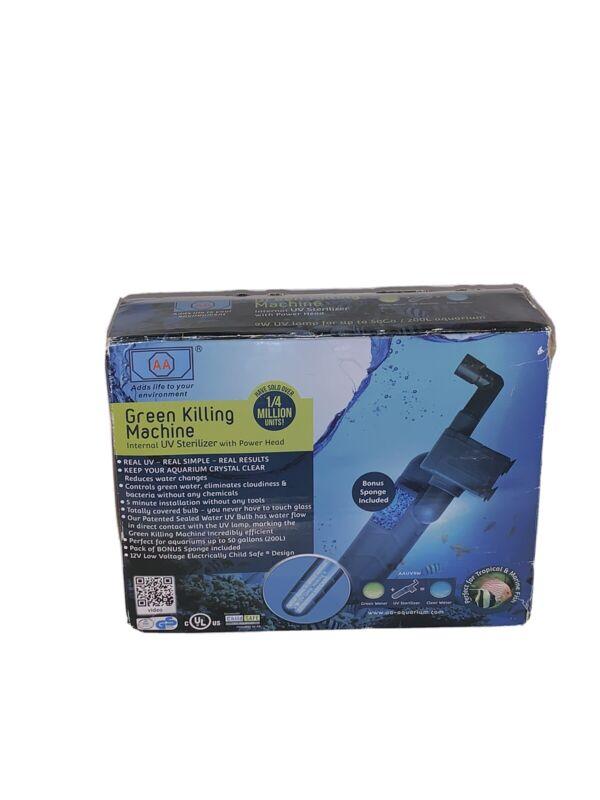 AA Green Killing Machine Internal UV Sterilizer For Aquariums