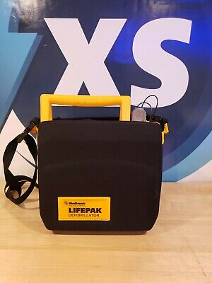 Medtronic Lifepak 500 Aed W Carry Case Adult Pads