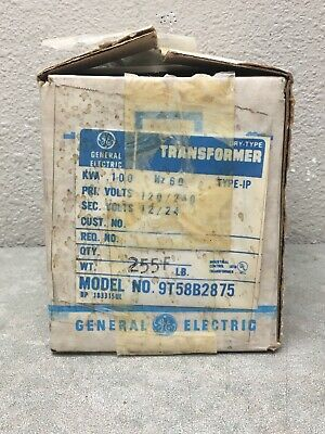 Ge 9t58b2875 Transformer